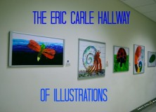 Eric Carle Hallway of Illustrations