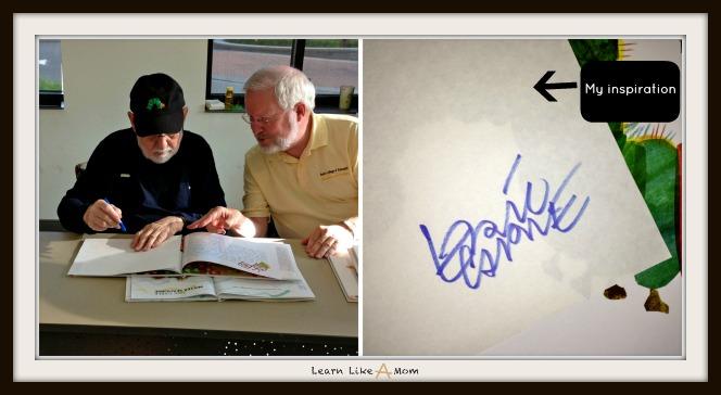 Eric Carle Signing