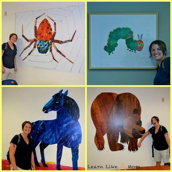 Learn Like a Mom with Carle art
