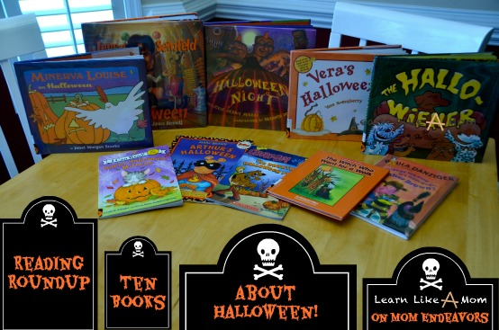 10 books to read for Halloween! - Learn Like a Mom for Mom Endeavors