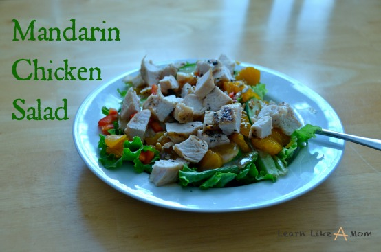 Mandarin Chicken Salad from Learn Like A Mom!