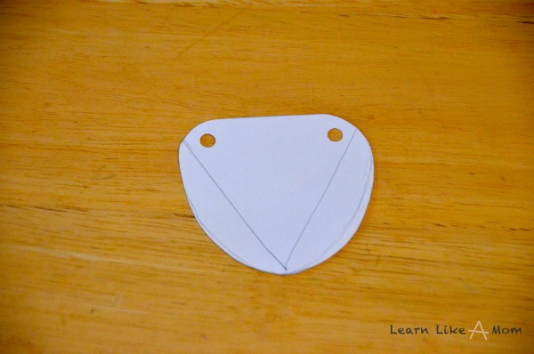 hole punch pirate eye patch