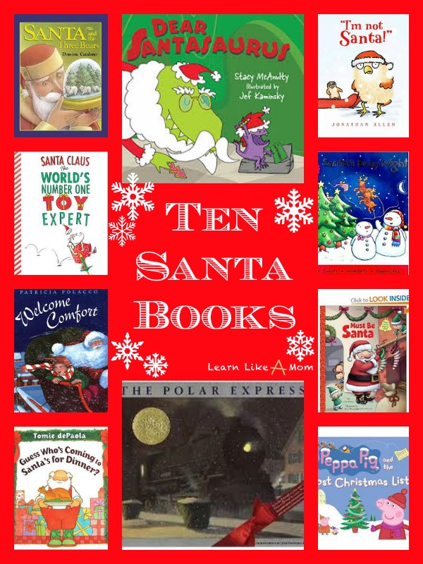 Ten Santa Books