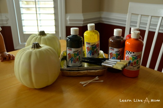 paint for the pumpkins