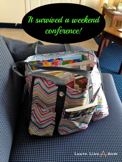 thirty-one product review - Learn Like A Mom! http://learnlikeamom.com/out-and-about/around-town/thirty-one-product-review/
