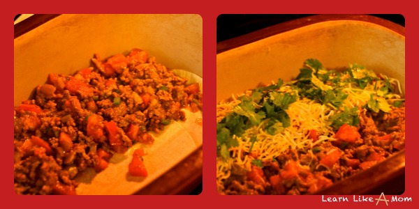 Two Uses for Taco Meat! Learn Like A Mom! http://learnlikeamom.com/recipes/two-uses-taco-meat/ ? #recipe #tacos #dinner