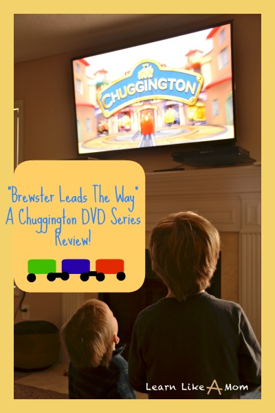 Brewster Leads The Way Review by Learn Like A Mom! http://learnlikeamom.com/around-the-house/screen-time/brewster-leads-the-way-review/ #chuggington #dvd #ece #giveaway