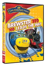 Brewster Leads The Way - A Chuggington DVD - Review by Learn Like A Mom! http://learnlikeamom.com/around-the-house/screen-time/brewster-leads-the-way-review/ ? #chuggington #trains #dvd #giveaway