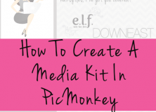 How To Create A Media Kit In PicMonkey (And A Free Template!)