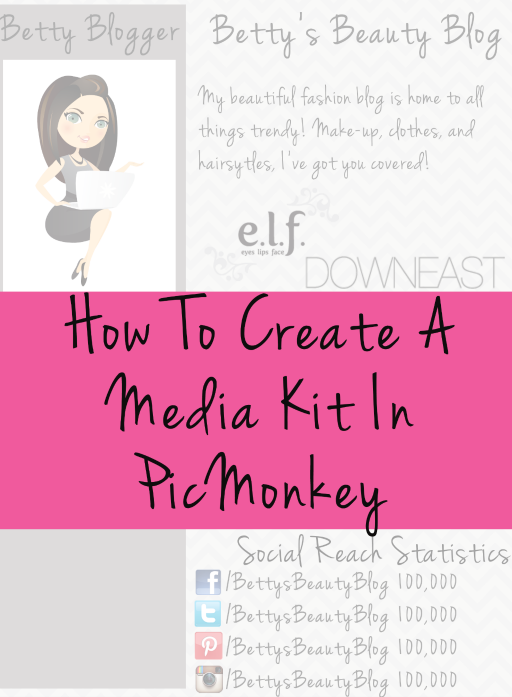 How To Create A Media Kit In PicMonkey - Becca Ludlum for Learn Like A Mom! http://learnlikeamom.com/around-the-house/screen-time/create-media-kit-in-picmonkey/ #blogging #mediakit #picmonkeytutorial