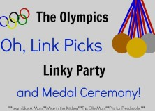 The Olympics, Oh Link Picks Linky Party and Medal Ceremony #5