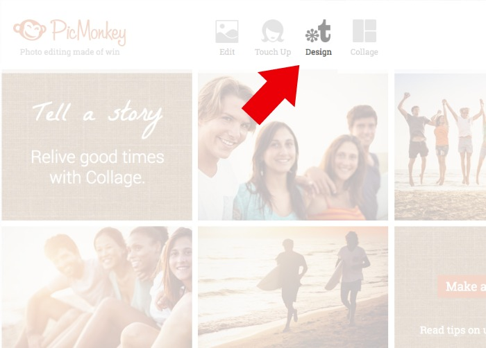 Create a media kit in PicMonkey using the Design feature