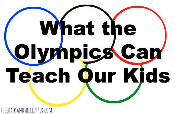 The Olympics, Oh Link Picks #3 Silver Medal - The Chaos and The Clutter on Learn Like A Mom! http://thechaosandtheclutter.com/archives/2341 #olympics #kids