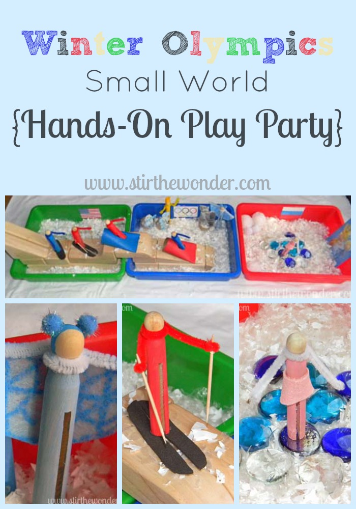 The Olympics Link Up Bronze Medal Winner! http://learnlikeamom.com/around-the-house/family-time/olympics-oh-li…dal-ceremony-4/   #olympics #ece