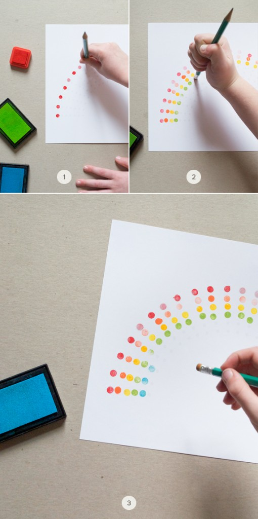 Dotted Rainbow Art by Mer Mag on Julep - Learn Like A Mom! http://learnlikeamom.com/creative-corner/decorating/personalize-life-minted/  #minted #homedecor