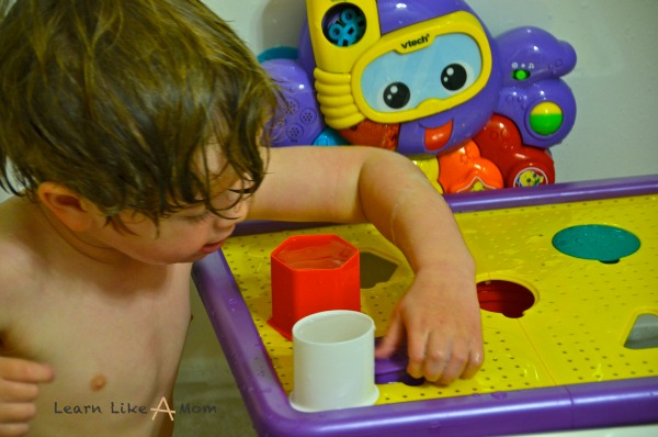 Tubby Table Review by Learn Like A Mom! http://learnlikeamom.com/around-the-house/bathroom/tubby-table-review/  #tubbytablereview #productreview #bathtime
