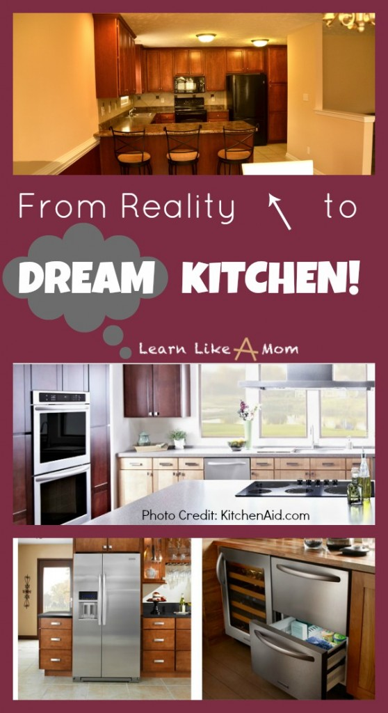 My Dream Kitchen from Learn Like A Mom! http://learnlikeamom.com/dream-kitchen/ ? #kitchen #kitchenappliances #dreamkitchen #remodel #kitchenappliances
