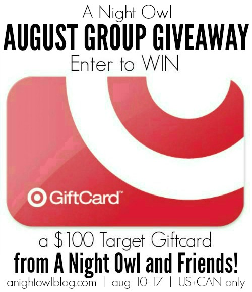 ANO Blog and Friends $100 Target Gift Card Giveaway! - Learn Like A Mom! http://learnlikeamom.com/target-gift-card/ #target #giftcard #giveaway