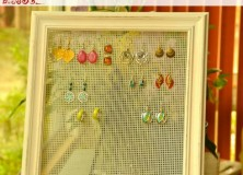 DIY Earring Display Tutorial