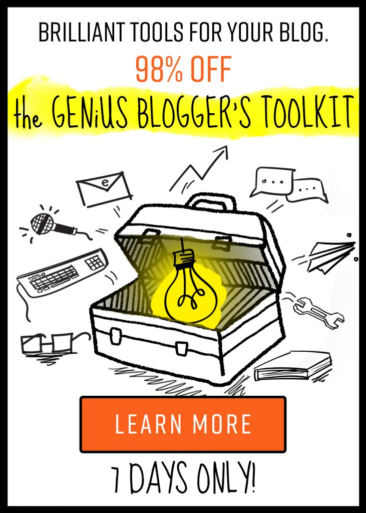 The Genius Blogger's Toolkit is a bundle of amazing resources for every blogger, whether you're a novice or seasoned professional! - Learn Like A Mom! http://learnlikeamom.com/genius-bloggers-toolkit/
